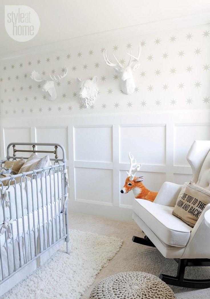 Nursery design: Grey iron crib {PHOTO: Tracey Ayton}