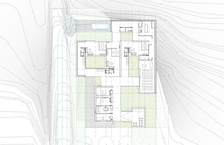194 best THESIS PROJECT images on Pinterest   Arquitetura  Art     Funeral Home and Garden in Pinoso Plan