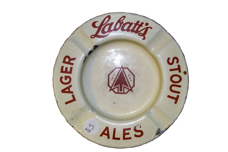 Vintage Labatt's Ash Tray $5 Visit Hillary House to see more!