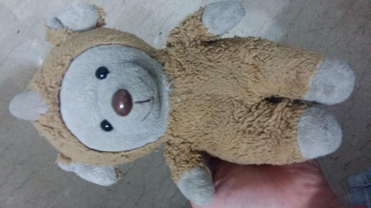 Lost on 25 Mar. 2016 @ Singapore. We didn't lost the bear but it belongs to my younger sister. Her bear is falling apart due to wear and tear, unfortunately we can't seem to find it anywhere. Can someone help us? Have you seen any ... Visit: https://whiteboomerang.com/lostteddy/msg/77714m (Posted by Dion on 25 Mar. 2016)