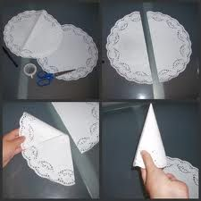 hacer cucuruchos de papel para chuches - Buscar con Google