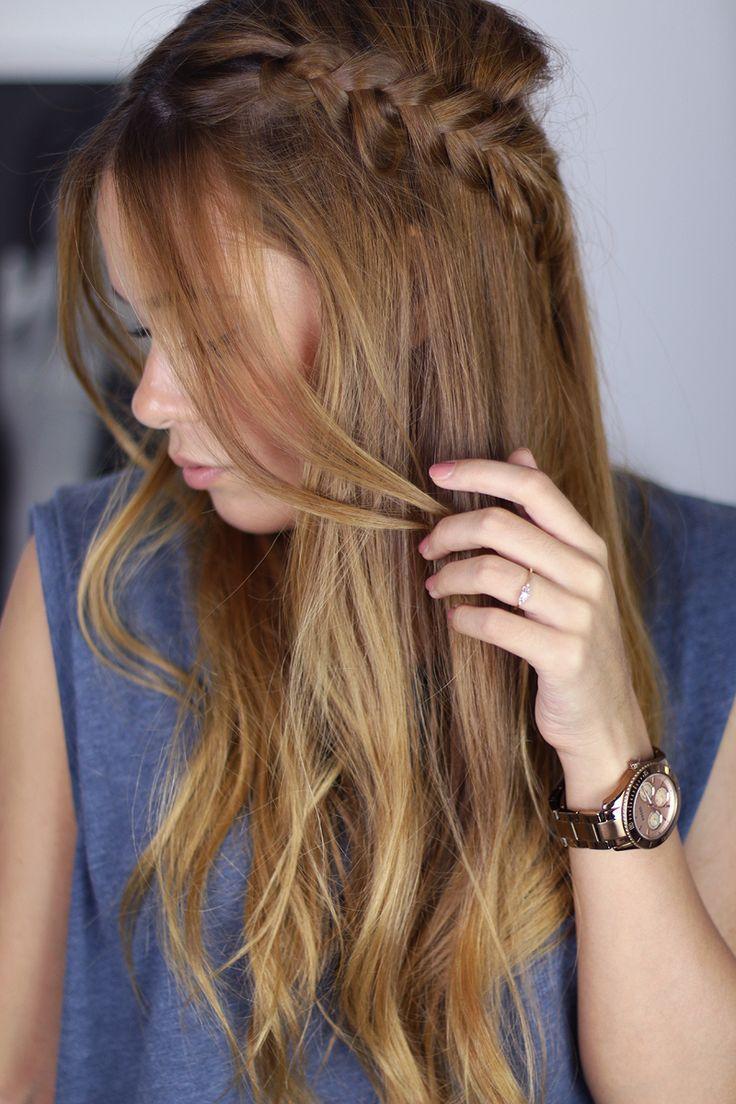 wiesn ready: braided hair crown