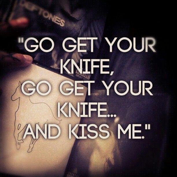Deftones Knife Prty