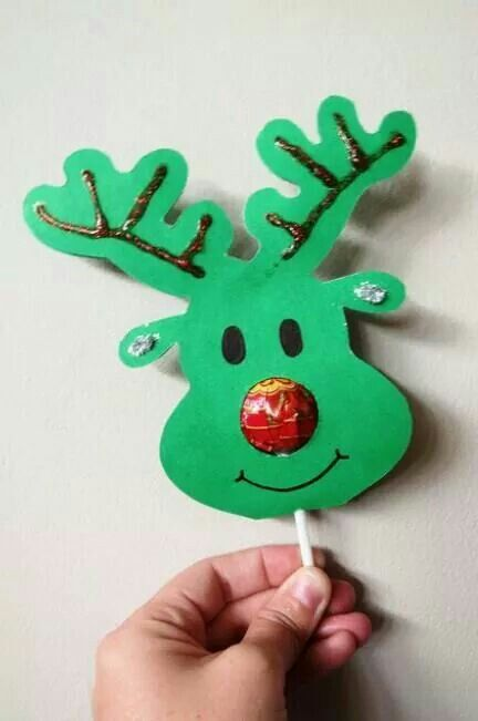 Lollipop Nose Reindeer :)