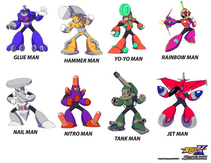 megaman robot masters | ... two mega man 10 characters that mega philx kicked out of mega man 10