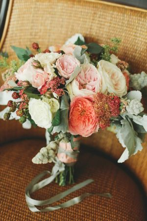 Dusty Miller and Peony Bouquet | photography by http://photography.michelemwaite.com | floral design by http://www.sinclairandmoore.com/