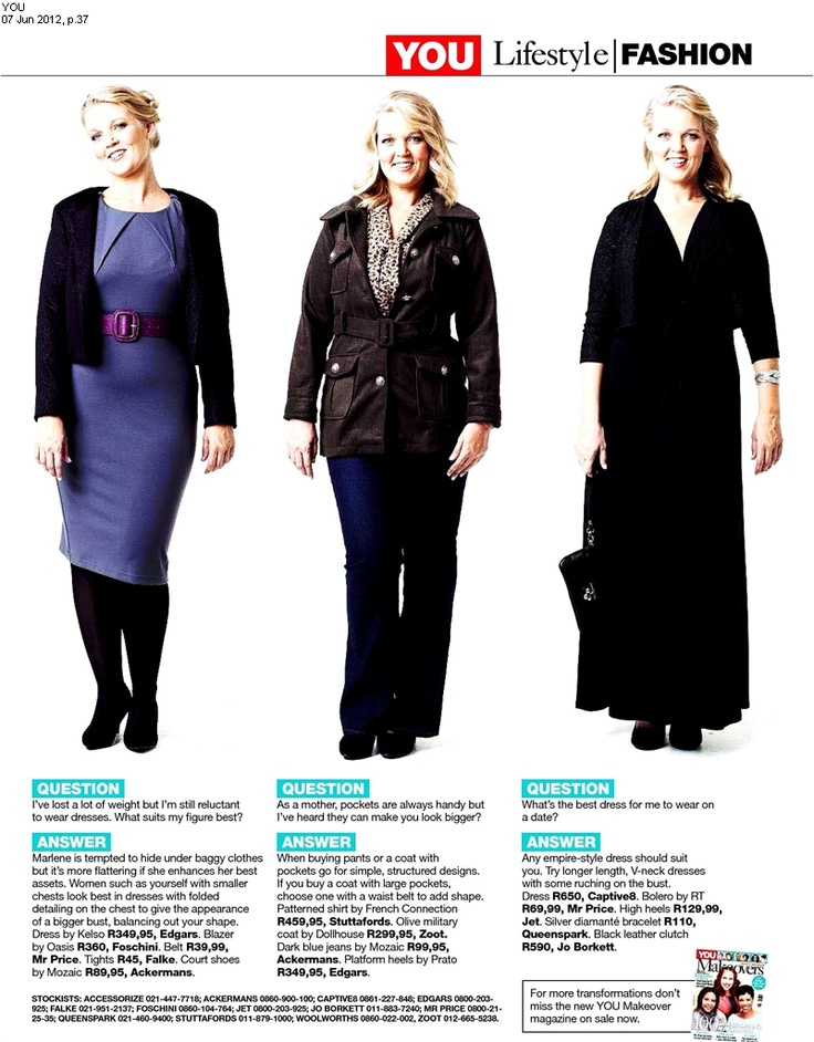 Captive8's Seebi Dress featured in You magazine #Plussizestyle
