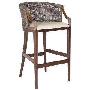 Safavieh Brando 28 in. Brown Cushioned Bar Stool-SEA4014B - The Home Depot $183