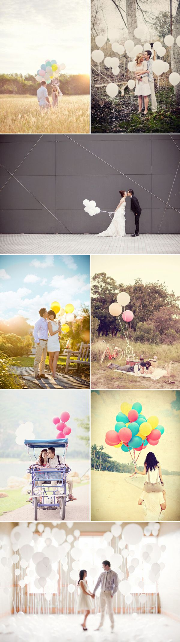 We love seeing different photographer's visions when incorporating balloons into engagement photos. Balloons make adorable props and backdrop, and it's also a great way to add pops of color. Fun, free-spirited, romantic, dreamy, and sweet, the possibilities are endless. Here are some ideas we absolutely adore. Get ready for some lovely inspiration! Large round …