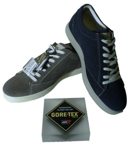 Gore Tex surround Italian shoes for man by Igi&Co