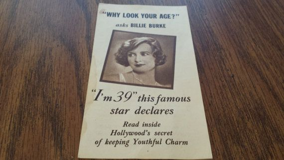 1930 Lux Soap Advertising Pamphlet Hollywood Movie Stars Billie Burke Joan Crawford Irene Rich Nancy Carroll