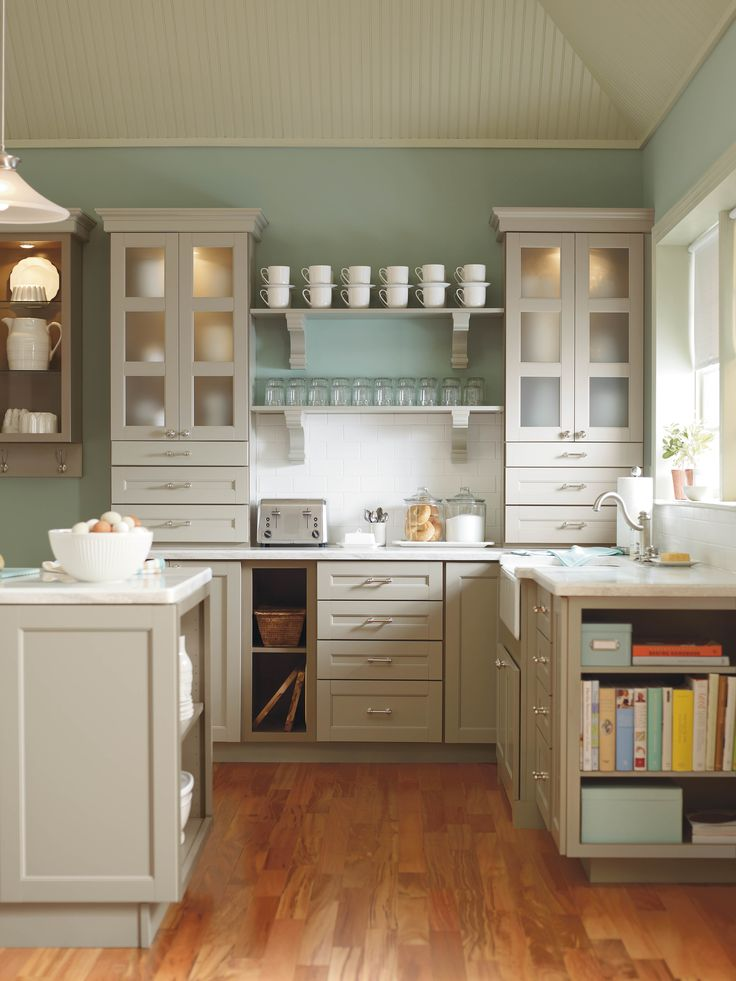 View the Martha Stewart Living kitchen catalog to see the entire assortment of cabinets, countertops, and hardware and get inspired by  Martha's own kitchens.
