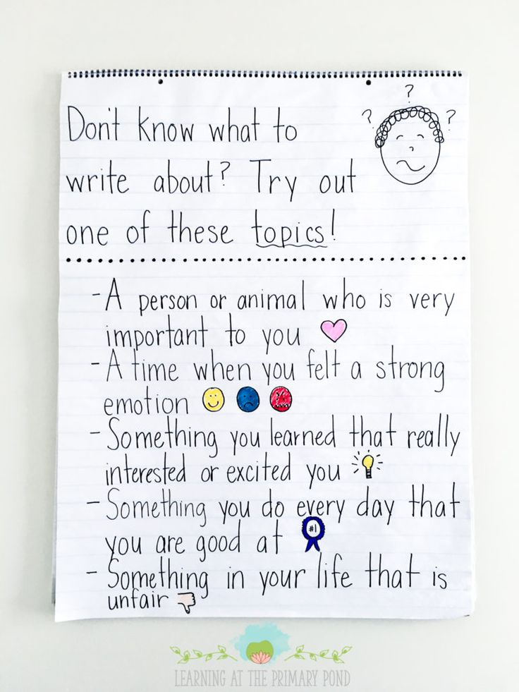 374 best Writing Workshop images on Pinterest Handwriting ideas - what to write