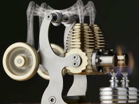 how to build a stirling engine to power your home