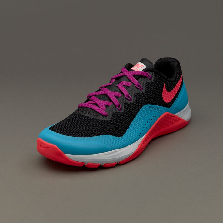 Nike Womens Metcon Repper DSX - Black/Racer Pink-Chlorine Blue