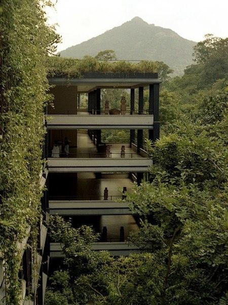 ♻ Heritance Kandalama Hotel Architect: Geoffrey Bawa I Location: Dambulla, Sri Lanka I Image Credit: Matthew Wakem I Heritance Kandalama Hotel, © 2012 ~