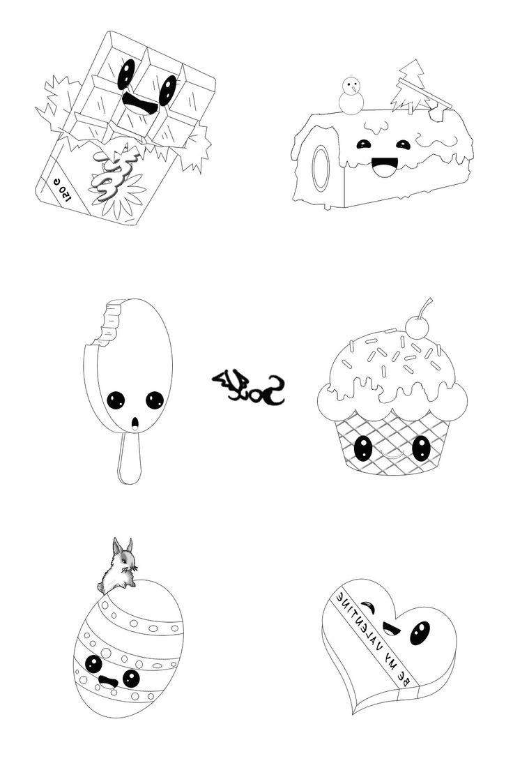 29 Inspirant De Dessin Kawaii A Imprimer Animaux Image  Coloriage