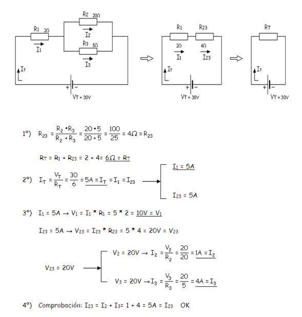 Como Resolver Circuitos Mixtos Electrotecnia Circuitos Diagrama De Instalacion Electrica