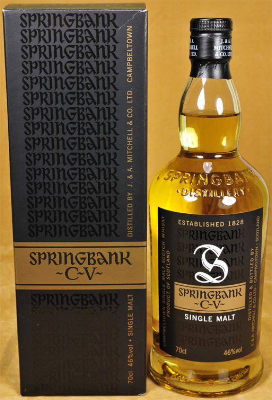 Springbank Whisky CV - non chill filtered