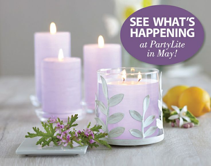 See What's Happening At PartyLite In May