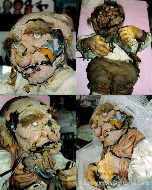 hoggle after being discovered rotting in unclaimed baggage ...