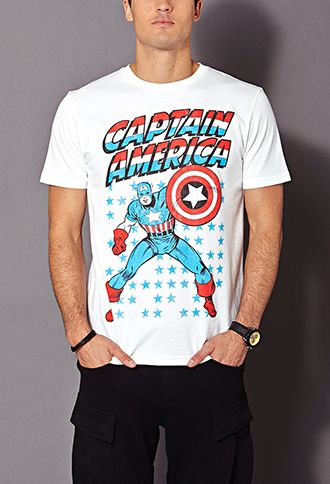 Captain America Tee from Forever 21