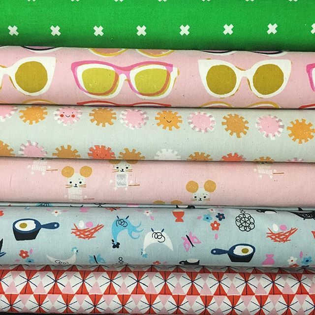 Gorgeous new Cotton & Steel in store now! #luccellomelbourne #cottonandsteel #modernquilting #toocute