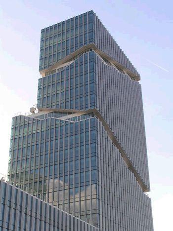 Zuidas, Vigñoly Building (Raphael Vigñoly Architecten PC