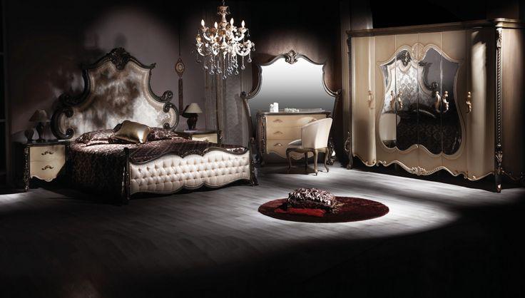 Lüks Ertuğrul Siyah Yatak Odası