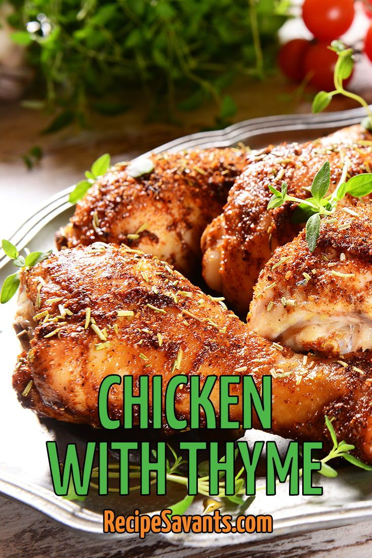 I Conquered This Recipe Roasted Chicken With Thyme Recipe Chicken Recipes American Quick Chicken Recipes Healthy Recipes