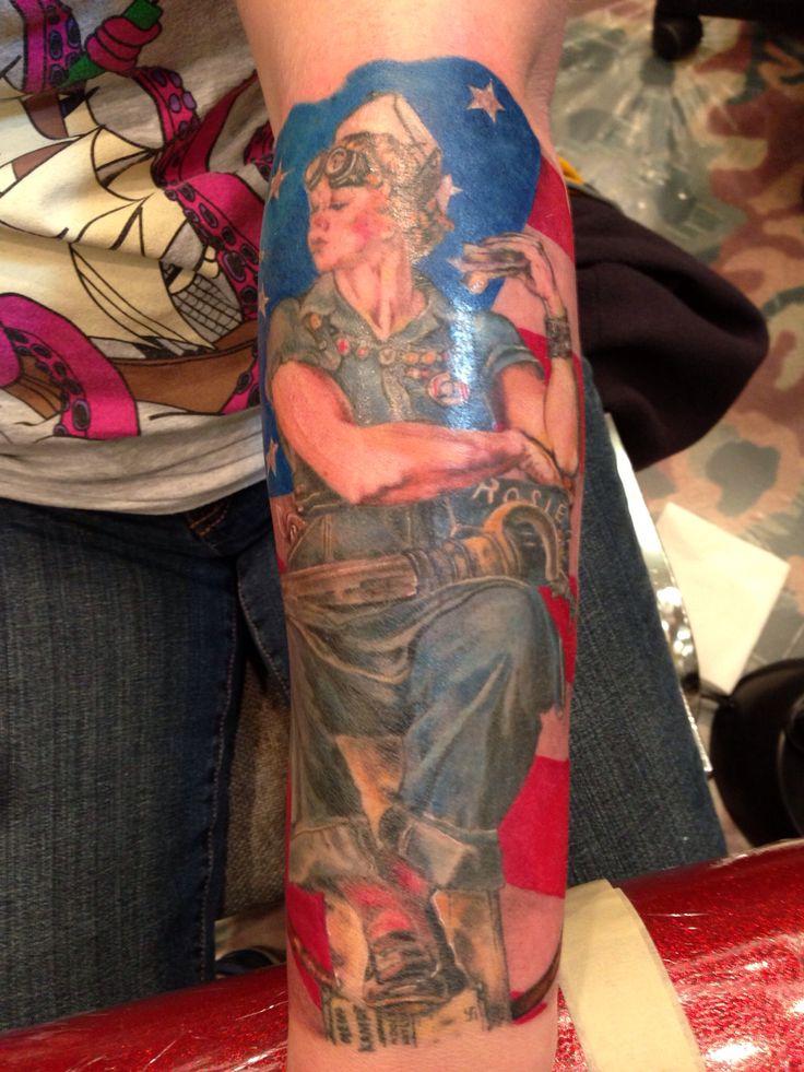26+ Astonishing Rosie the riveter traditional tattoo image HD