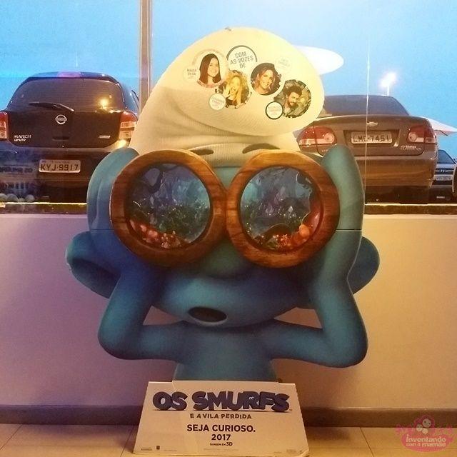 Os Smurfs e a vila perdida - 3º filme da série. Totalmente animado.