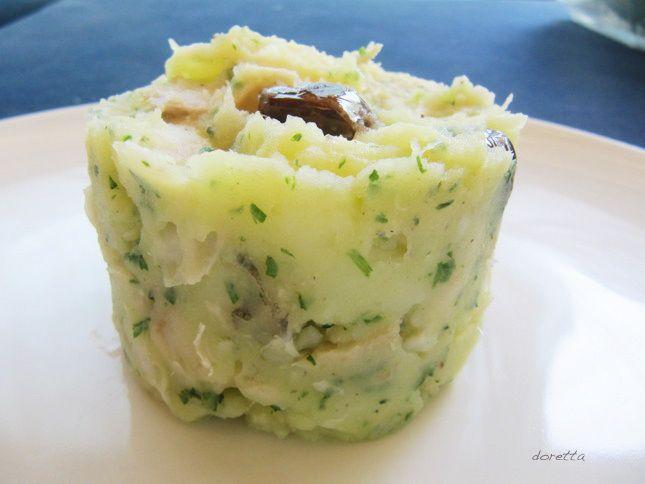 BRANDACUJUN (salted codefish and potatoes)