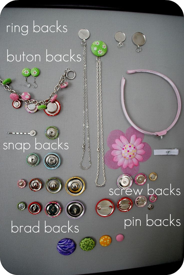 Covered Button Projects, via @Jennifer Hadfield