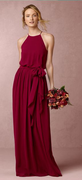 Alana Dress in Black Cherry