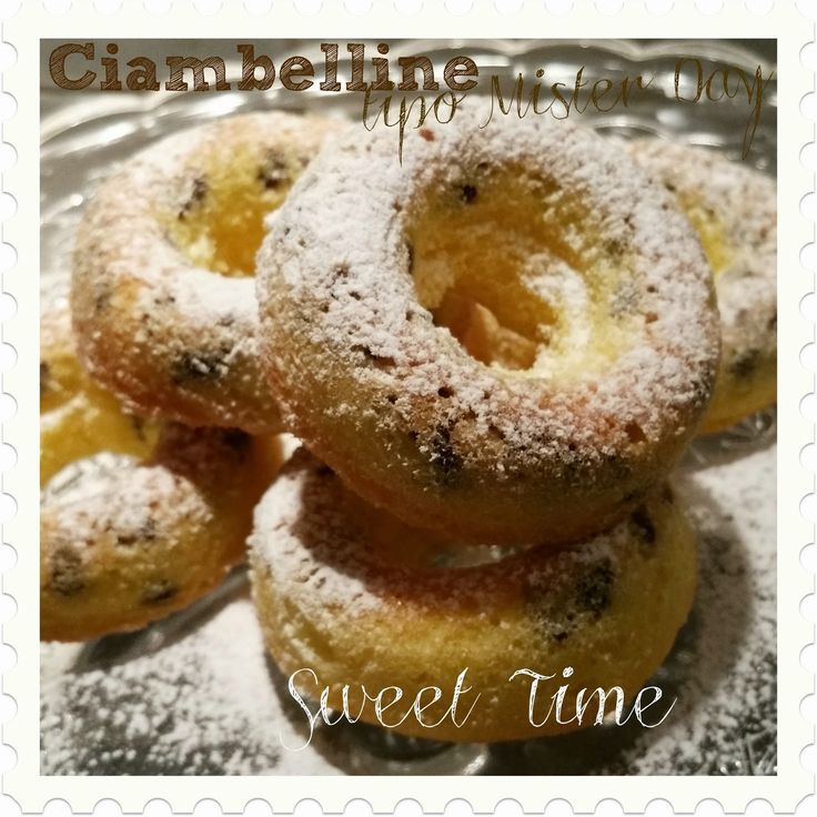 Sweet Time: Ciambelline morbide - Tipo Mister Day