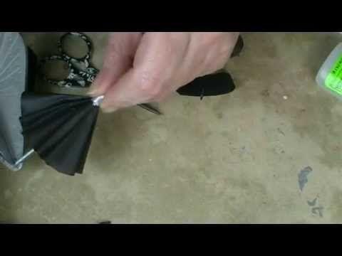 Working Miniature Umbrella - YouTube