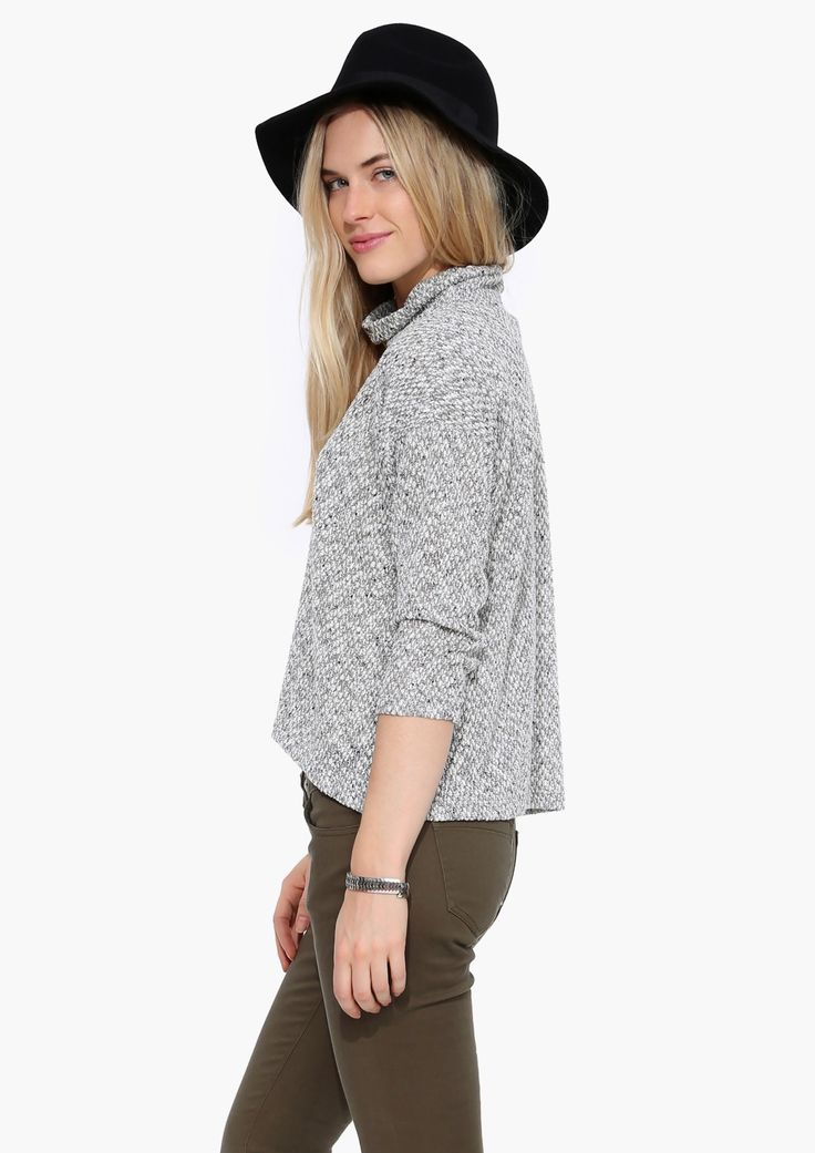 Great hat and sweater. I think I might have to get a hat this season. Are you a hat wearer?