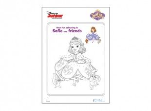 107 best disney junior images on pinterest disney jr disney princess sofia the first colouring in template from ichild pronofoot35fo Choice Image