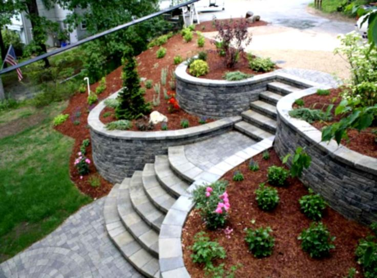 sloping-garden-landscape-designed-with-stoned-steps-walkway-landscaping-ideas-flowers-beds-between-decorative-flower-retaining-walls-idea.jpg (1146×844)