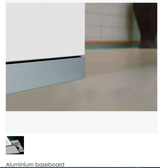 Flush Baseboard Minimalist Details Pinterest