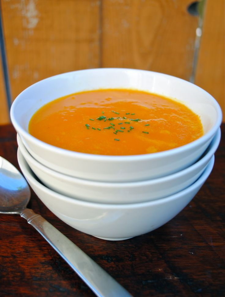 The Silver Palate's Carrot and Orange Soup | Virtually Homemade #fallfest