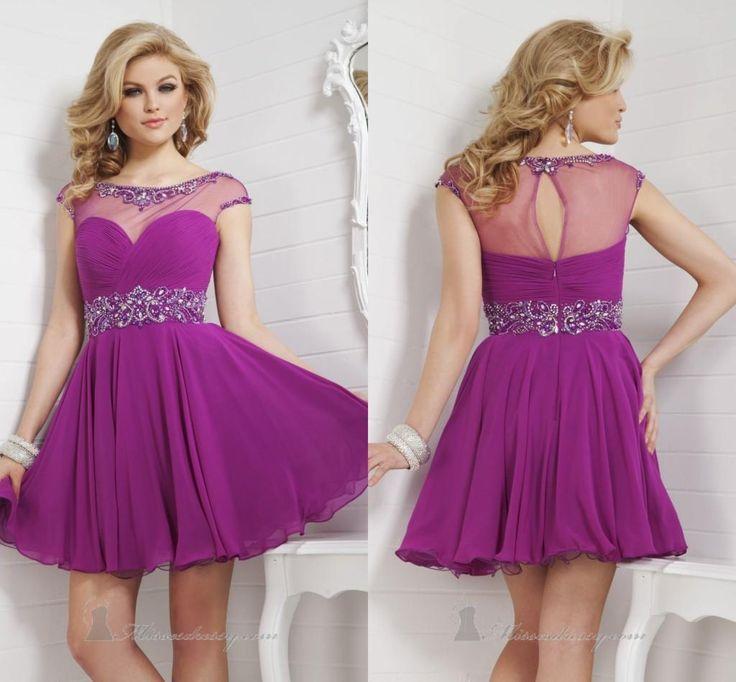 Best 25+ Purple Cocktail Dress Ideas On Pinterest