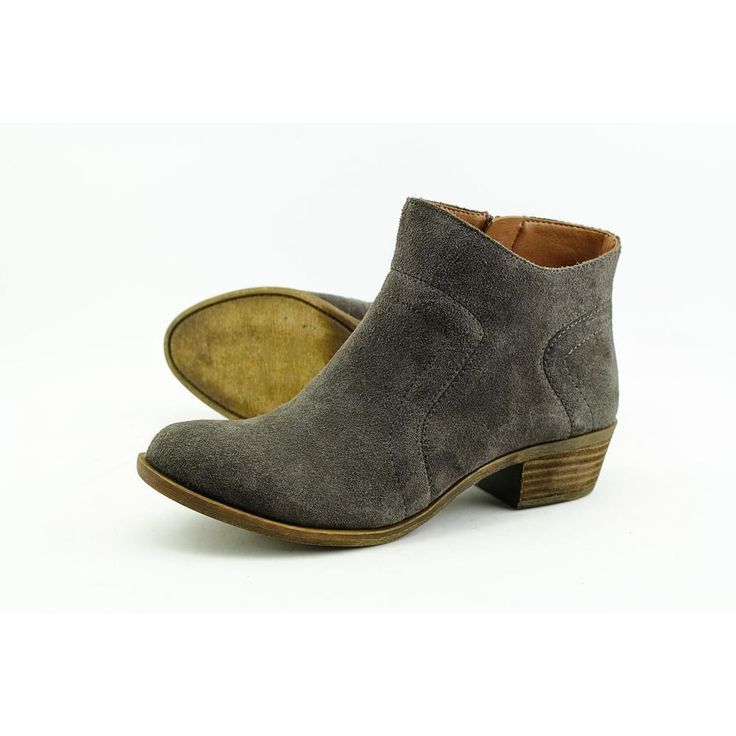 Lucky Brand Brolley Women US 8 Gray Bootie Pre Owned  1831 #LuckyBrand #FashionAnkle