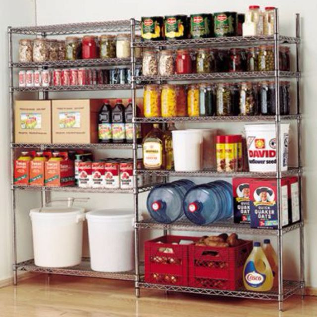 Metal Wire Shelving Units Storage Racks: This Is A Great Example Of How  Wire Metal Shelves Racks Can Used. By The Way, The Picture Also Illustrates  How ...