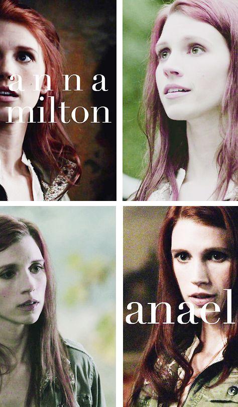Anna Milton + Anael #spn