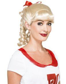 Sandy cheerleader kostuum voor vrouwen