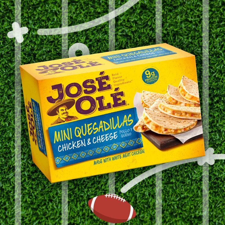 Enjoy our mini #quesadillas with #chicken and #cheese while watching the #nfl