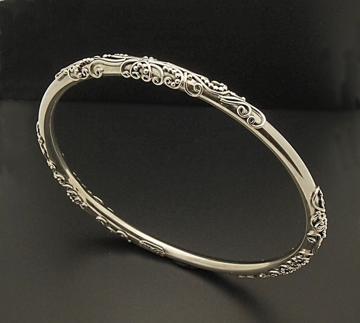 how to make a sterling silver bangle