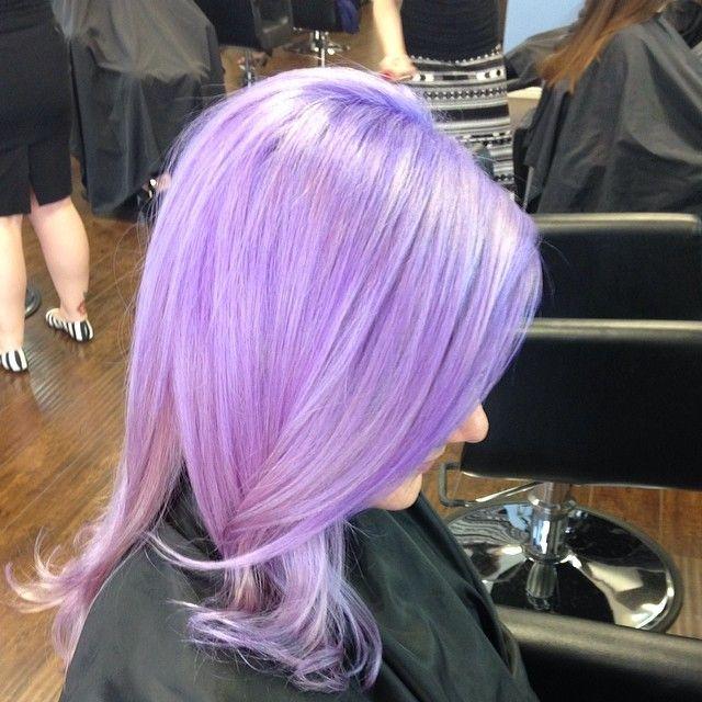 Hair By Jenny Pastel Purple Purple Hair Color Aveda